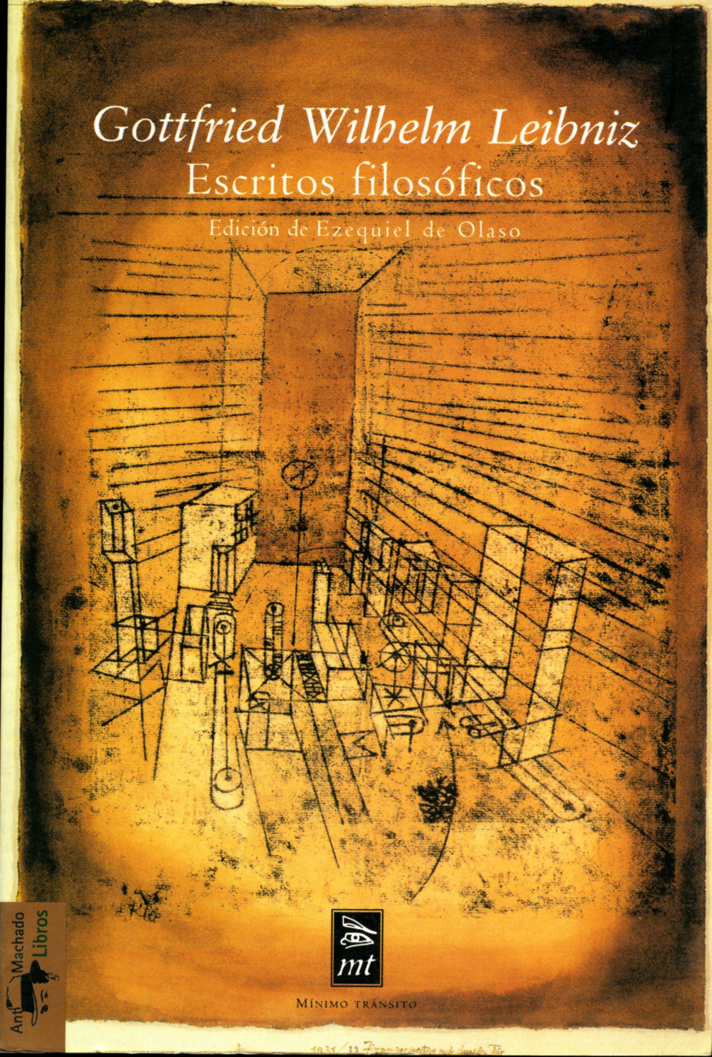 Gottfried Wilhelm Leibniz Escritos filosóficos