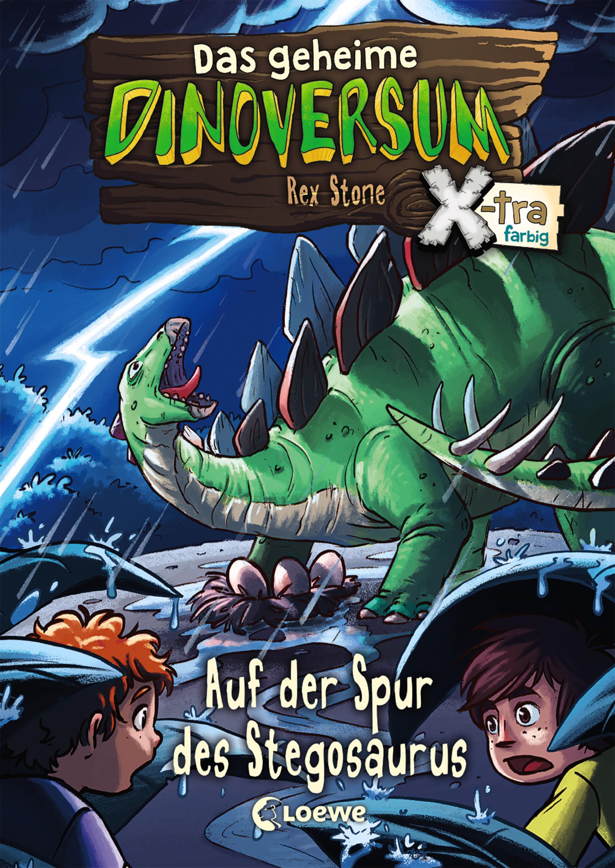 цена Rex Stone Das geheime Dinoversum Xtra 7 - Auf der Spur des Stegosaurus