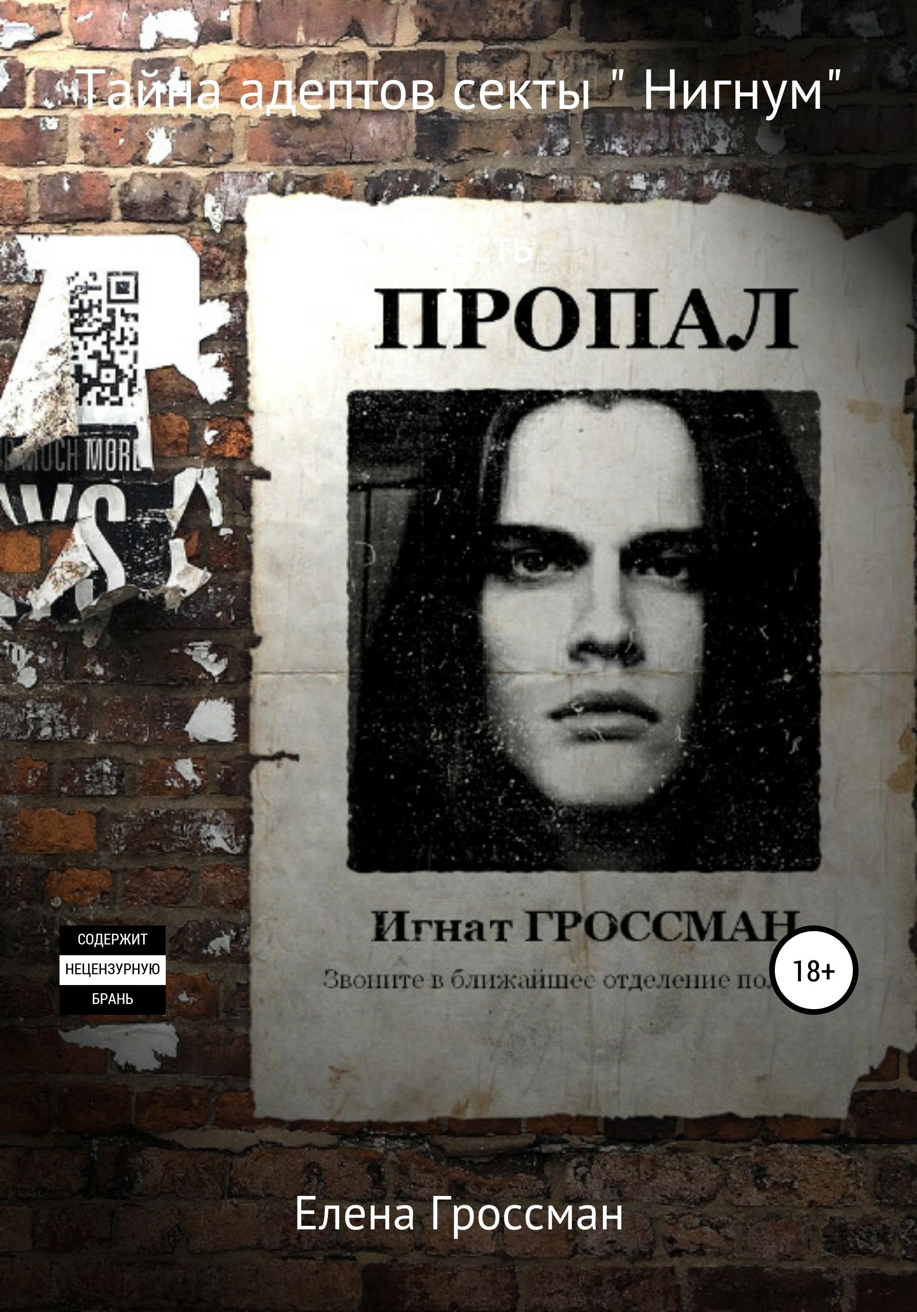 Елена Гроссман Тайна адептов секты «Нигнум». Часть 2