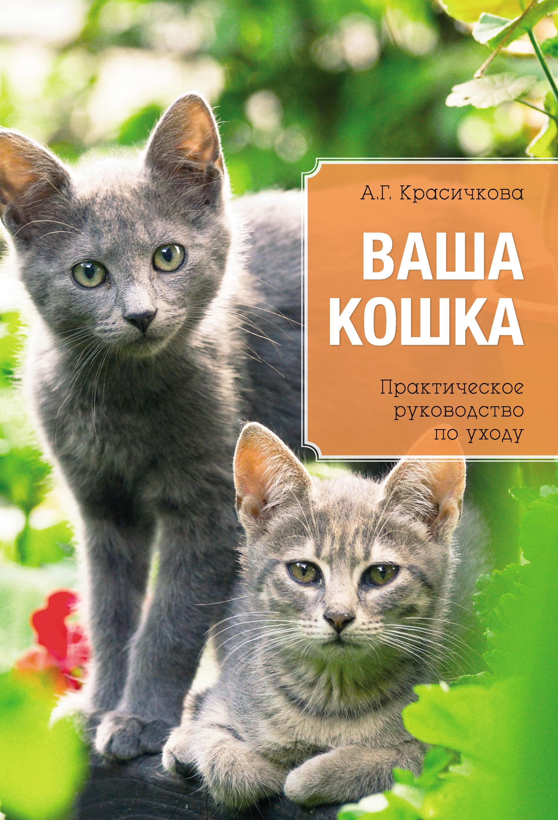 Анастасия Красичкова Ваша кошка. Практическое руководство по уходу