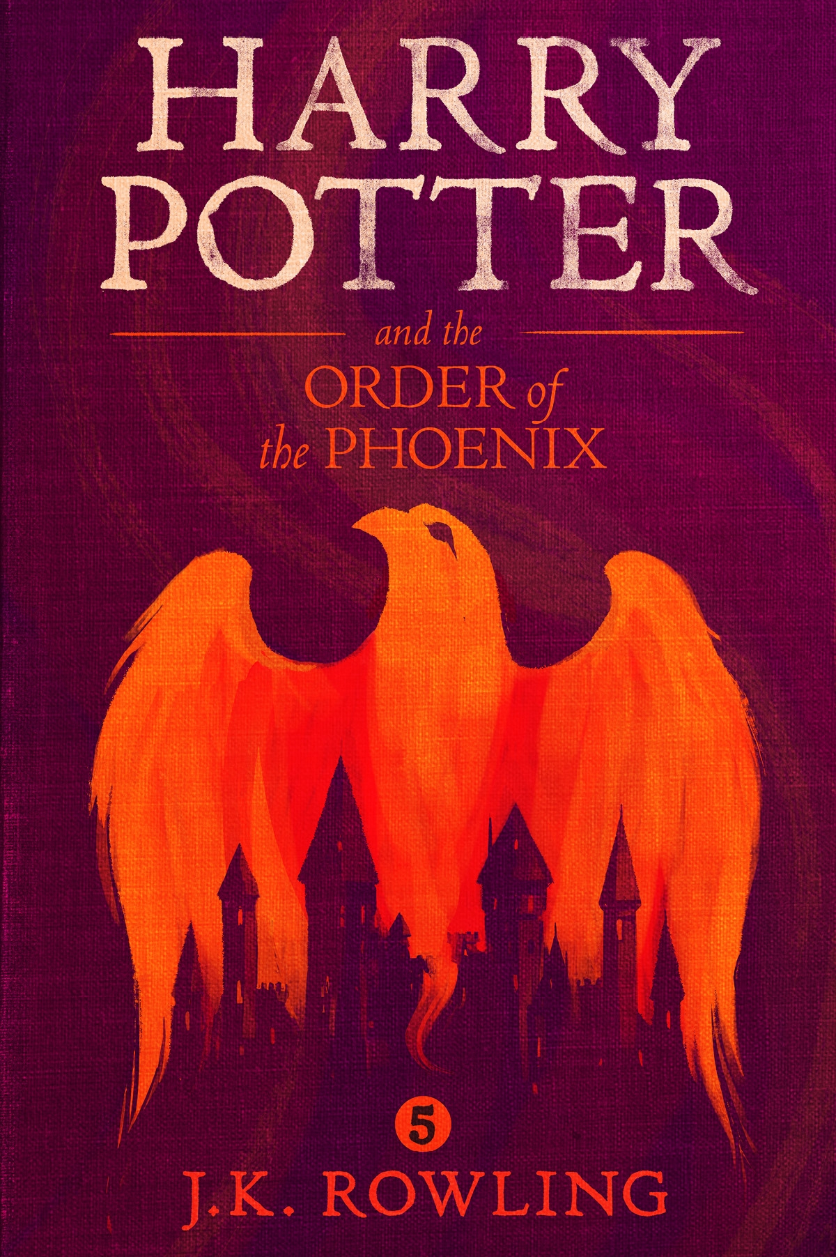 Дж. К. Роулинг Harry Potter and the Order of the Phoenix dark mind