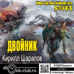 Каменистый Артем , Шарапов Кирилл Юрьевич S-T-I-K-S. Двойник обложка