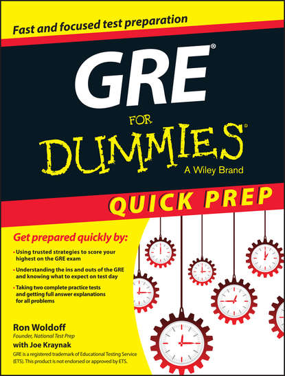 Фото - Ron Woldoff GRE For Dummies Quick Prep ron guth coin collecting for dummies