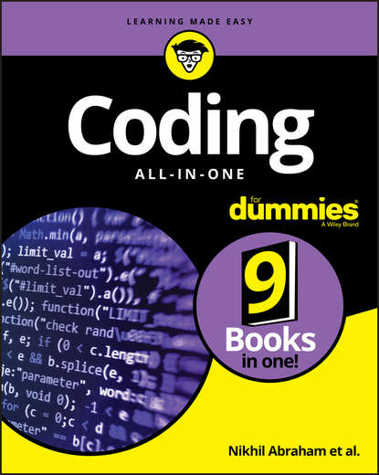 Фото - Nikhil Abraham Coding All-in-One For Dummies adele devine colour coding for learners with autism