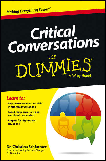 Christina Schlachter Tangora Critical Conversations For Dummies difficult conversations how to discuss what matters most