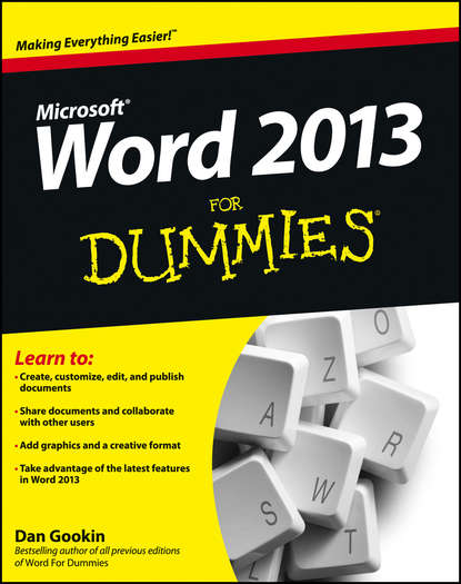 Dan Gookin Word 2013 For Dummies dan gookin word 2007 for dummies