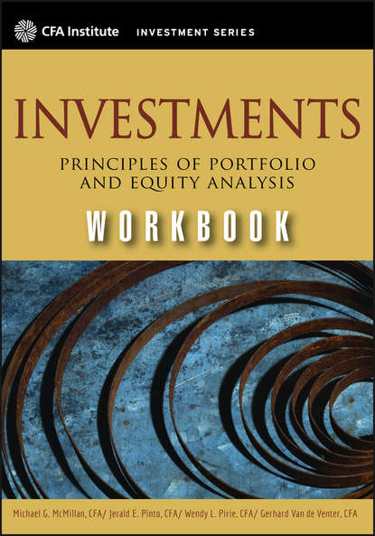 Michael McMillan Investments Workbook. Principles of Portfolio and Equity Analysis robert weigand a applied equity analysis and portfolio management tools to analyze and manage your stock portfolio