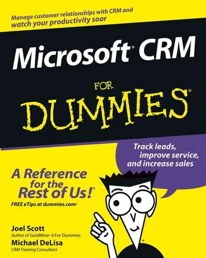 Joel Scott Microsoft CRM For Dummies electronic customer relationship management
