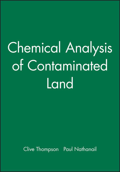 Nathanail Paul Chemical Analysis of Contaminated Land bacterial contaminated stethoscopes a source of nosocomial infections