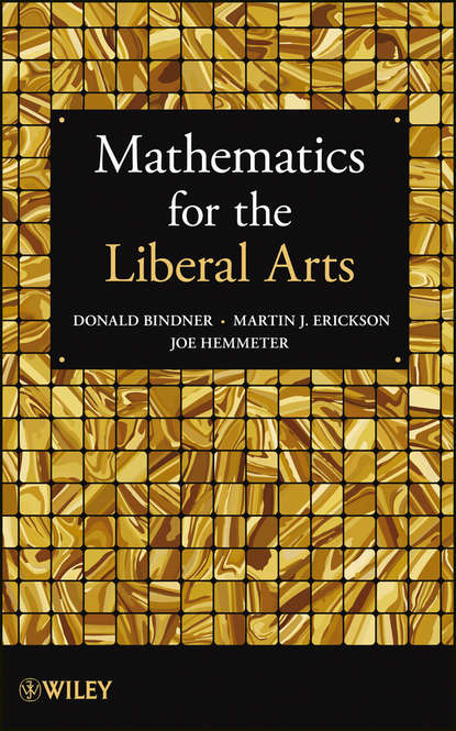 Donald Bindner Mathematics for the Liberal Arts suggestions for iran and the world