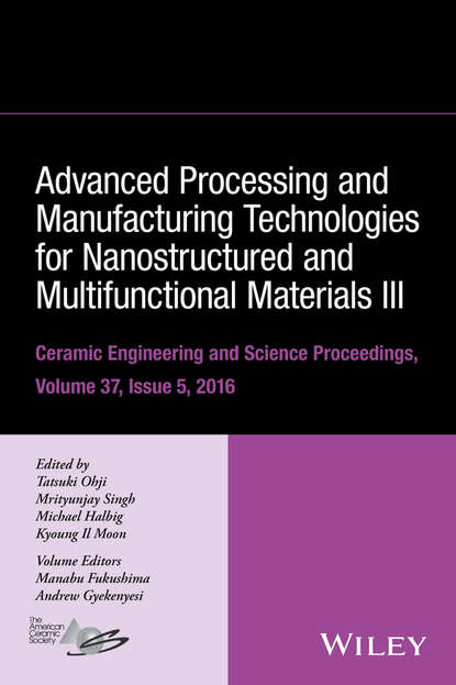 Группа авторов Advanced Processing and Manufacturing Technologies for Nanostructured and Multifunctional Materials III недорого