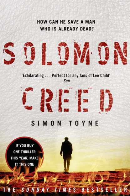 Simon Toyne Solomon Creed: The only thriller you need to read this year piers paul read the wisdom of solomon