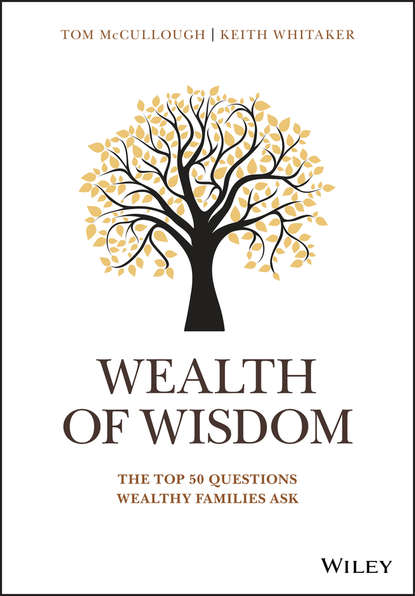 Keith Whitaker Wealth of Wisdom. The Top 50 Questions Wealthy Families Ask decisions and dilemmas