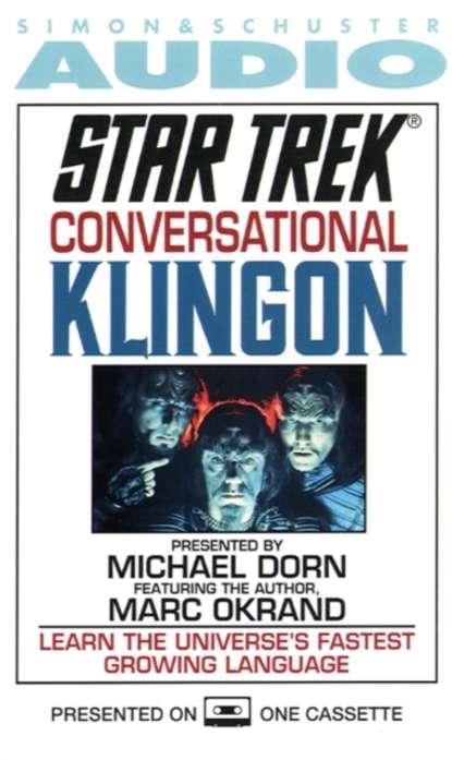 marc okrand klingon for the galactic traveler Marc Okrand Star Trek: Conversational Klingon