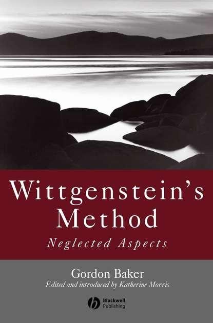 Katherine Morris J. Wittgenstein's Method willis katherine j key topics in conservation biology 2 isbn 9781118520192