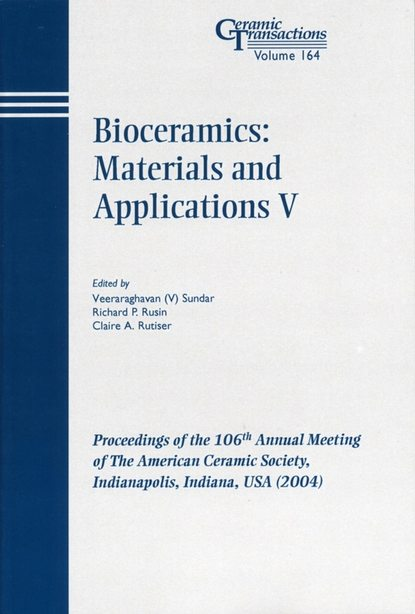 Veeraraghavan Sundar Bioceramics: Materials and Applications V mohammad jawaid synthesis and tribological applications of hybrid materials