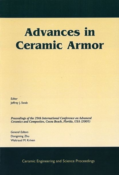 Dongming Zhu Advances in Ceramic Armor недорого