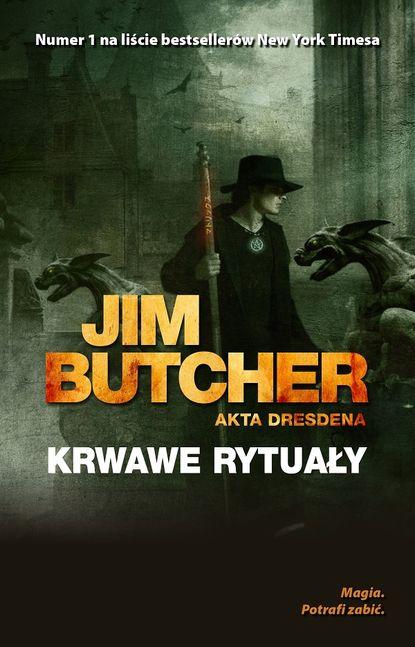 Фото - Jim Butcher Krwawe rytuały jim butcher zimne dni