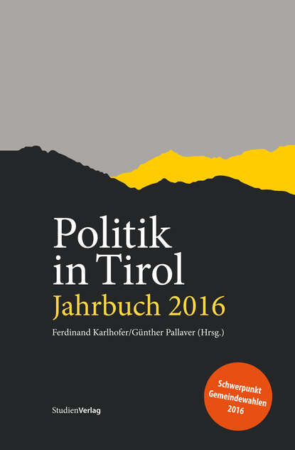 Группа авторов Politik in Tirol. Jahrbuch 2016 недорого