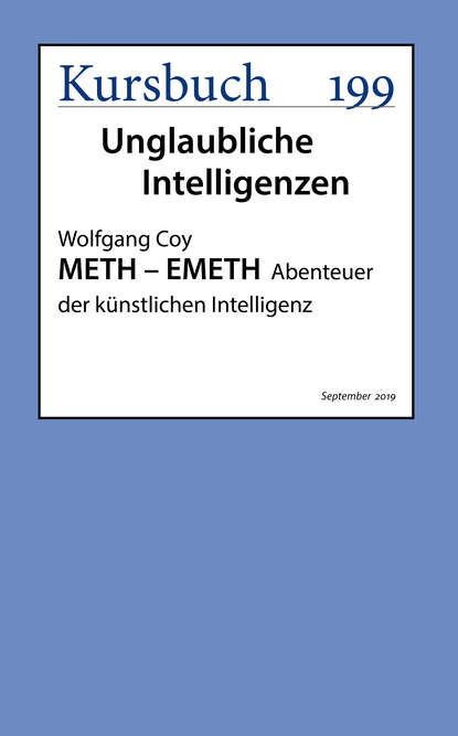 Wolfgang Coy METH – EMETH свитшот print bar meth city