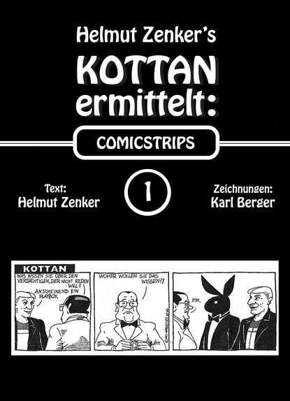 Фото - Helmut Zenker Kottan ermittelt: Comicstrips 1 helmut zenker kottan ermittelt new comicstrips 1