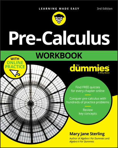 Mary Jane Sterling Pre-Calculus Workbook For Dummies yang kuang pre calculus for dummies