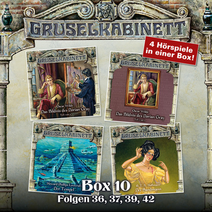 E.T.A. Hoffmann Gruselkabinett, Box 10: Folgen 36, 37, 39, 42 hoffmann von fallersleben kinderlieder
