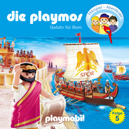 Simon X. Rost Die Playmos - Das Original Playmobil Hörspiel, Folge 5: Gefahr für Rom d fries lasset das drama in rom beginnen
