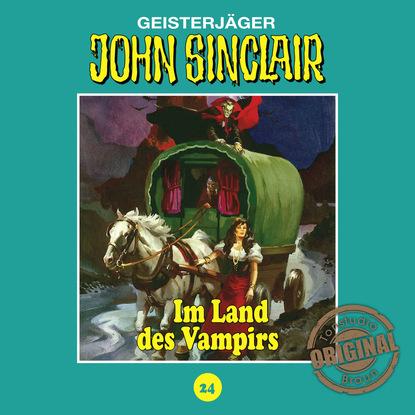Jason Dark John Sinclair, Tonstudio Braun, Folge 24: Im Land des Vampirs. Teil 1 von 3 jason dark john sinclair tonstudio braun folge 24 im land des vampirs teil 1 von 3