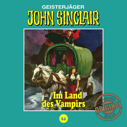 Jason Dark John Sinclair, Tonstudio Braun, Folge 24: Im Land des Vampirs. Teil 1 von 3 jason dark john sinclair tonstudio braun folge 17 die drohung teil 1 von 3