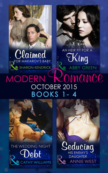 Modern Romance October 2015 Books 1-4