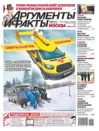 Аргументы и Факты Москва 03-2021