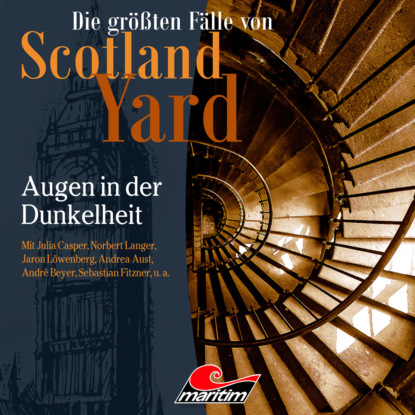 Markus Duschek Die größten Fälle von Scotland Yard, Folge 45: Augen in der Dunkelheit andreas masuth die größten fälle von scotland yard folge 5 sein letzter fall