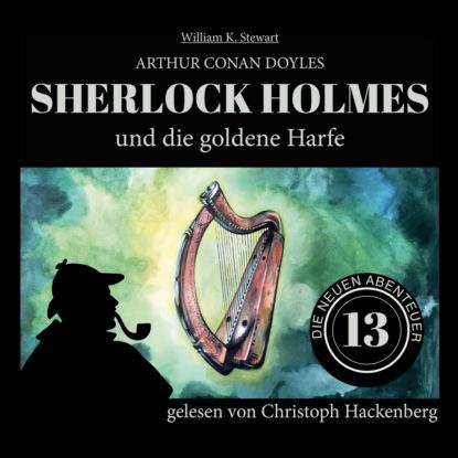 Фото - Sir Arthur Conan Doyle Sherlock Holmes und die goldene Harfe - Die neuen Abenteuer, Folge 13 (Ungekürzt) paul burghardt twilight mysteries die neuen folgen folge 2 thanatos