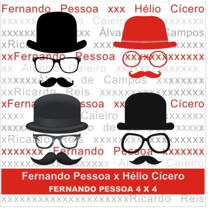 Фото - Fernando Pessoa Fernando Pessoa x Hélio Cícero - Fernando Pessoa 4 X 4 (Integral) fernando mansilla relatos faunescos