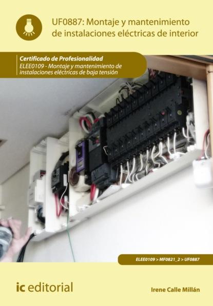 Irene Calle Millán Montaje y mantenimiento de instalaciones eléctricas de interior. ELEE0109 luis miguel santos gonzález aplicación de métodos de control fitosanitarios en plantas suelo e instalaciones agac0108