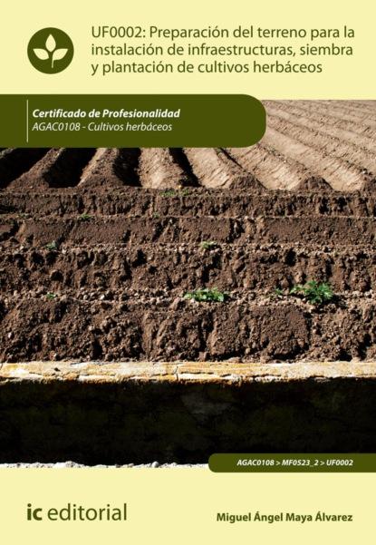 Miguel Ángel Maya Álvarez Preparación del terreno para la instalación de infraestructuras, siembra y plantación de cultivos herbáceos. AGAC0108 miguel ángel maya álvarez caracterización y control de plagas en áreas edificadas y ajardinadas seag0110