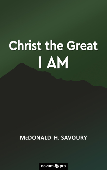 Фото - McDonald H. Savoury Christ the Great I Am timothy f gardner lessons in truth series the everlasting gospel of the kingdom of god spirit within