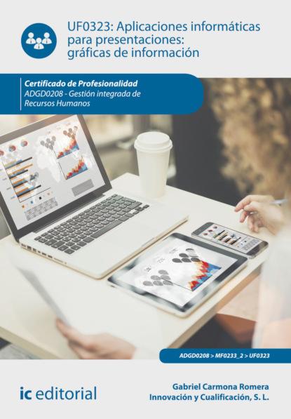 Gabriel Carmona Romera Aplicaciones informáticas para presentaciones: gráficas de información. ADGD0208 francisco javier cruz jiménez aplicaciones informáticas de contabilidad adgd0308