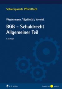 BGB-Schuldrecht Allgemeiner Teil