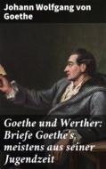 Goethe und Werther: Briefe Goethe\'s, meistens aus seiner Jugendzeit