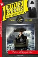 Butler Parker 165 – Kriminalroman