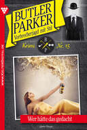 Butler Parker 15 – Kriminalroman