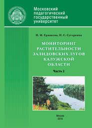 Мониторинг растительности Залидовских лугов Калужской области. Часть 2