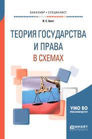 Теория государства и права в схемах. Учебное пособие для бакалавриата и специалитета