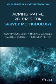 Administrative Records for Survey Methodology