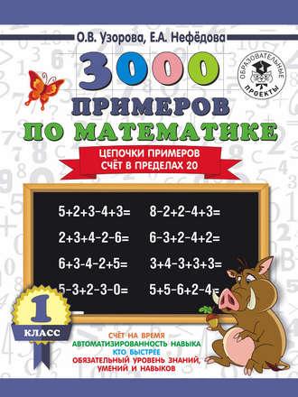 Примеры по математике 1 класс в пределах 20 распечатать