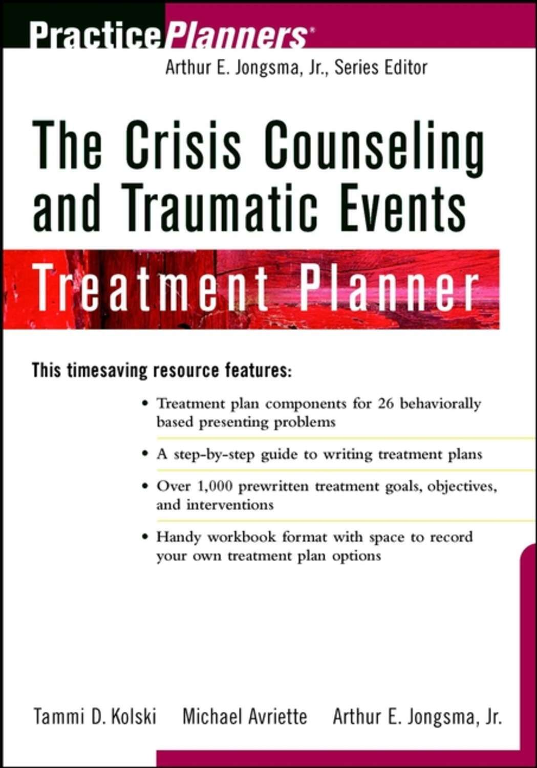 Tammi Kolski D The Crisis Counseling And Traumatic Events